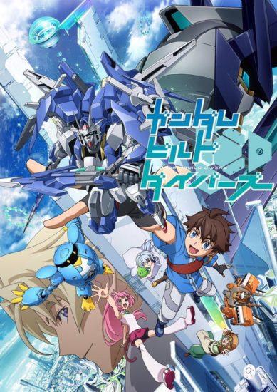 Gundam Build Divers Todos os Episódios