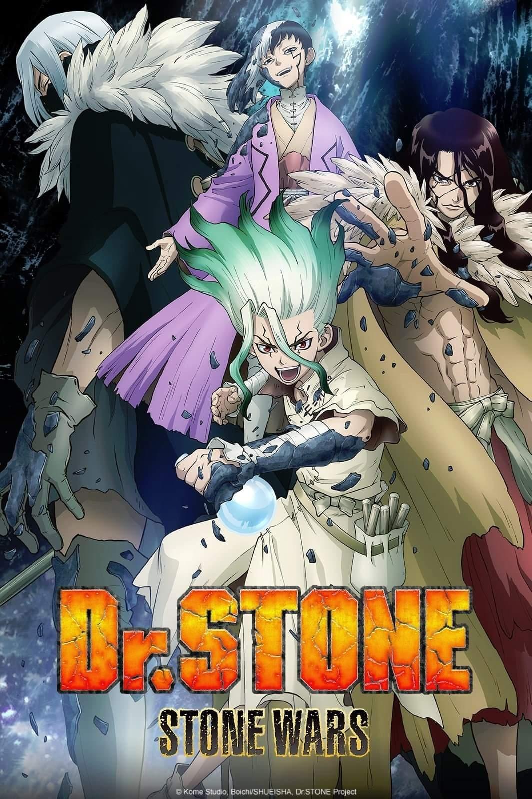 dr. stone dublado